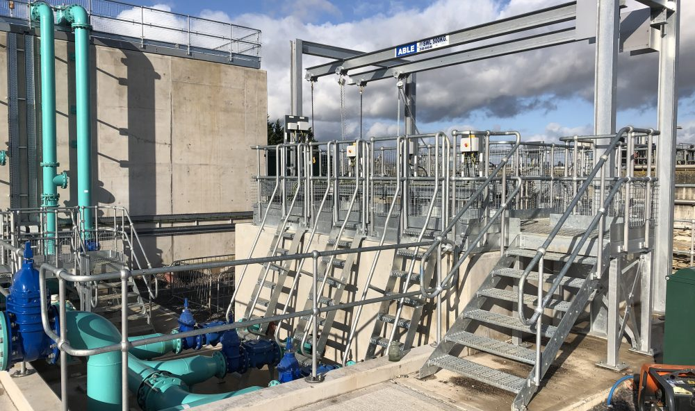 Westbury Park Engineering Sewage Treatment Works