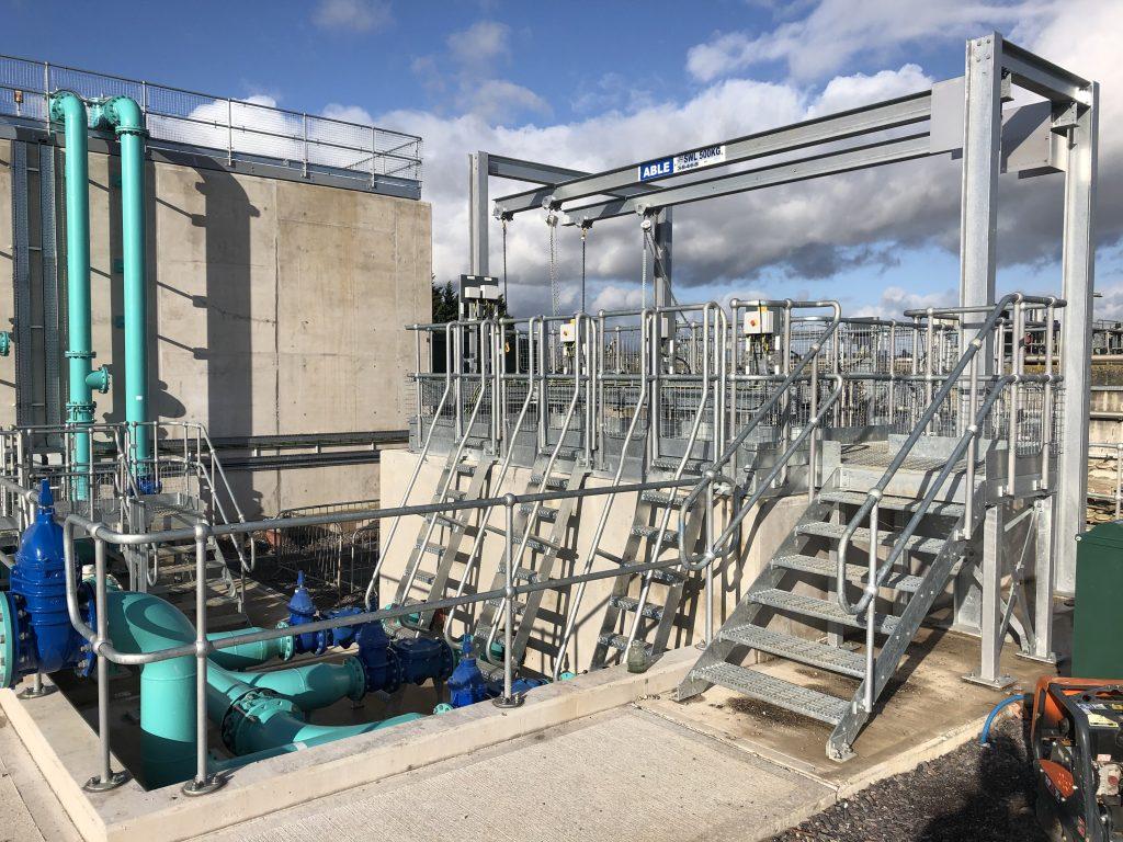 Westbury Park Engineering Sewage Treatment Works