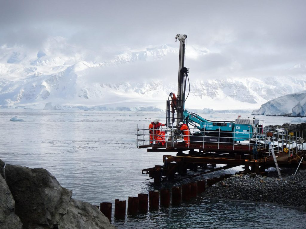 Westbury Park Engineering Rothera Research Station Platform